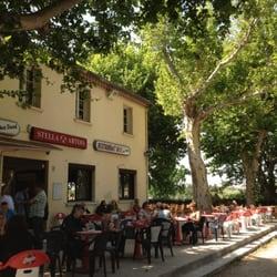 Bar L Esplanade Cafes Rue Eugene Rouche Sommieres Gard