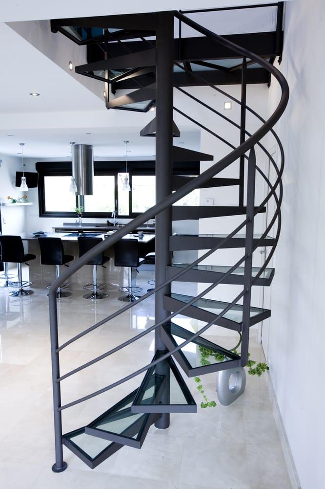 E H I Escalier Helicoidal Industriel Maison Travaux
