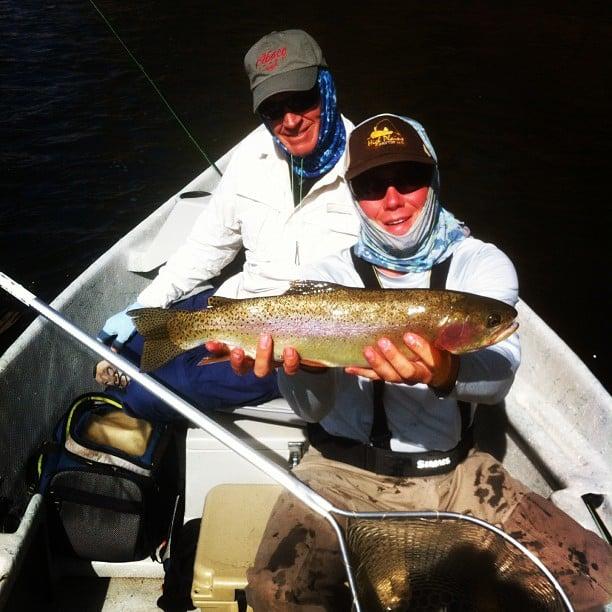 Drift Fly Fishing: Saratoga, WY