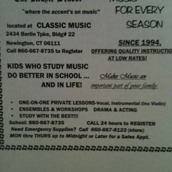 Music School - 2434 Berlin Tpke, Newington, CT - Phone Number - Yelp