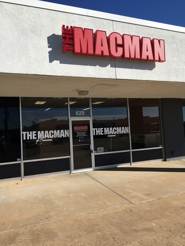 The MacMan: 629 NW 7th St, Moore, OK