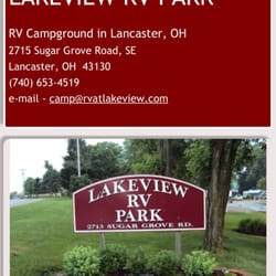Photo Of Lakeview Rv Park Lancaster Oh United States