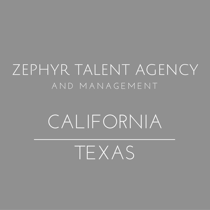Zephyr Talent Agency: Cedar Park, TX