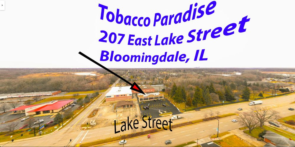 Tobacco Paradise: 207 East Lake St, Bloomingdale, IL