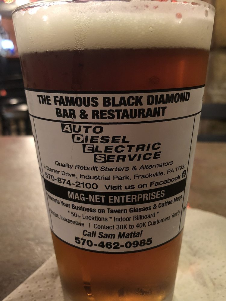 Black Diamond Bar & Restaurant: 327 S Lehigh Ave, Frackville, PA
