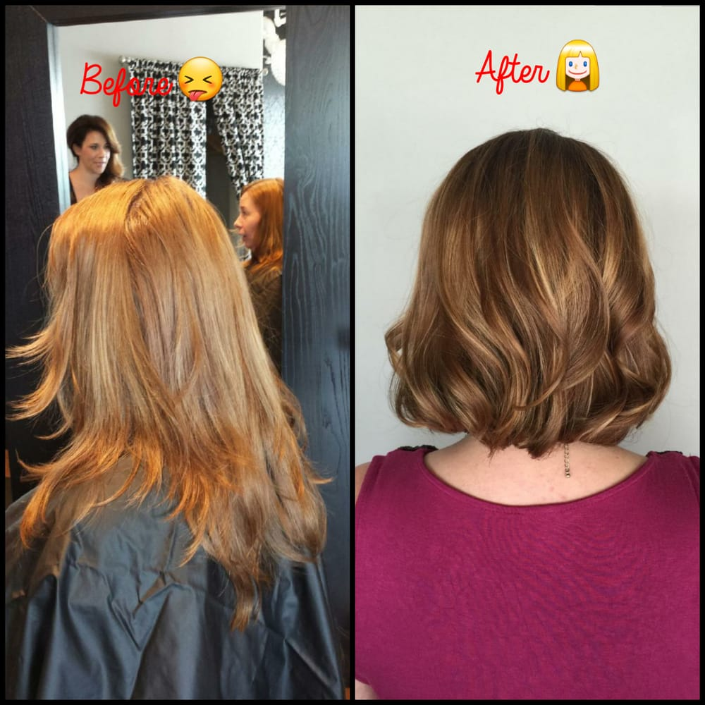 Fixed The Box Color I Used Added Great Hair Cut Leaving Beautiful