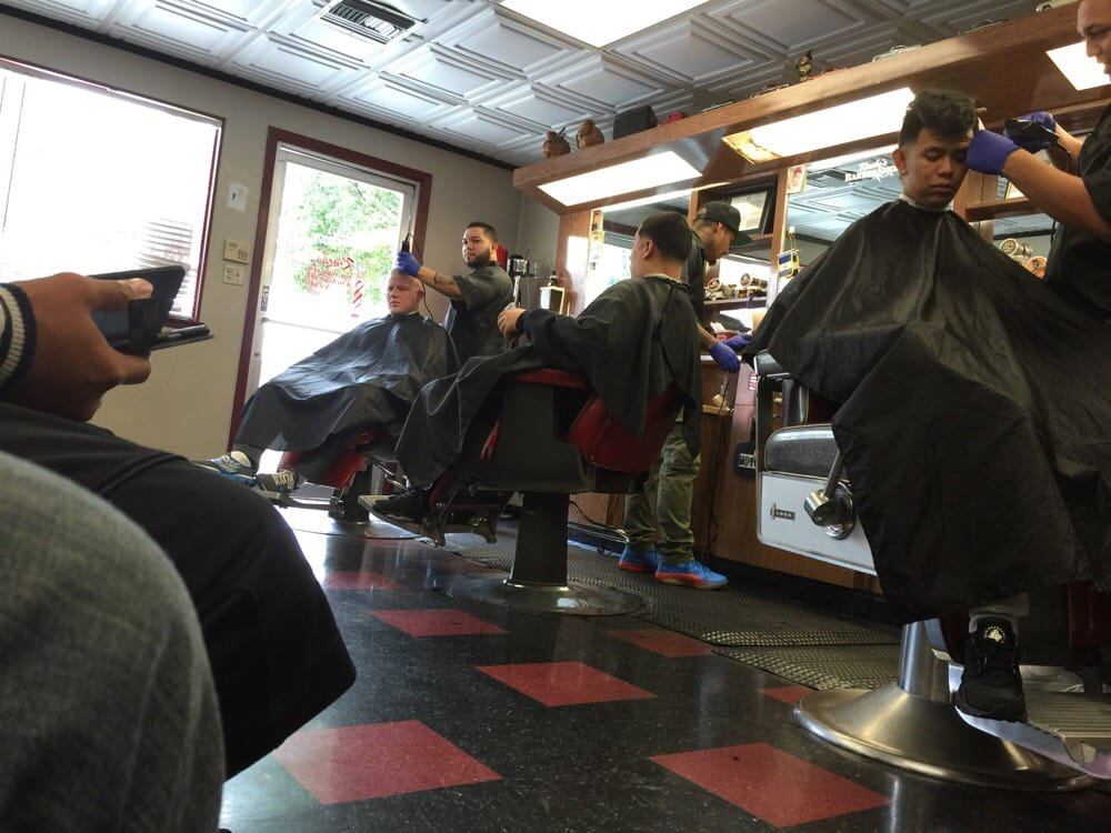 Most Checked-in Barber Shop close to Most Faded Barber Shop