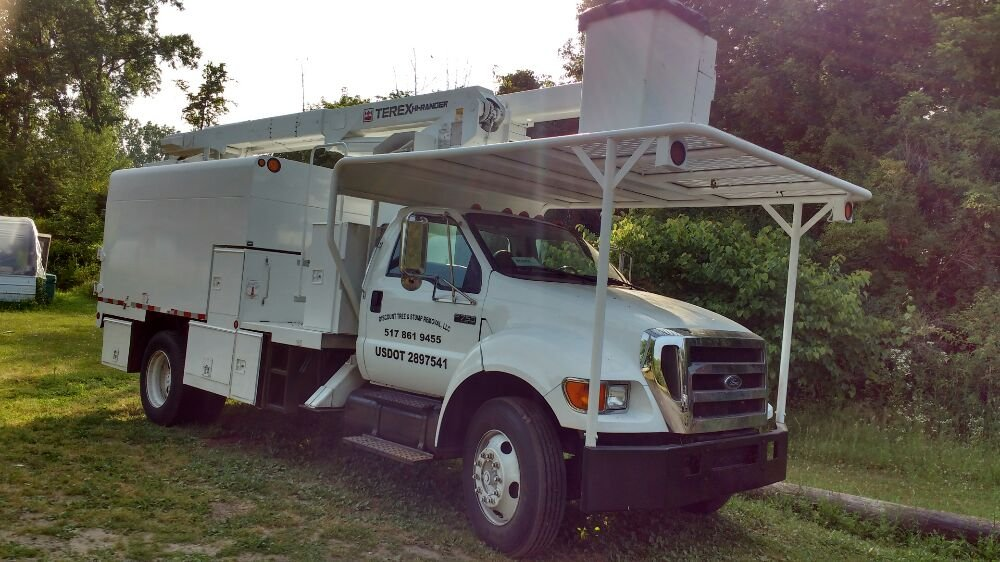 Discount Tree & Stump Removal: 4724 Lansing Rd, Bancroft, MI