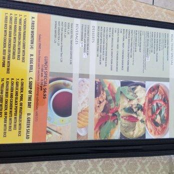 Real Thai Food  Chapman Ave