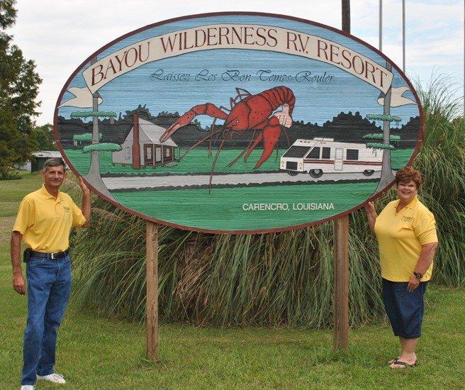 Bayou Wilderness RV Resort: 201 Saint Clair Rd, Carencro, LA