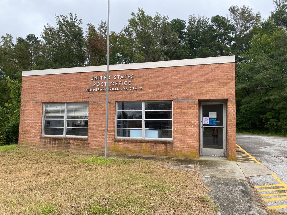 Temperanceville Post Office: US 13, Temperanceville, VA