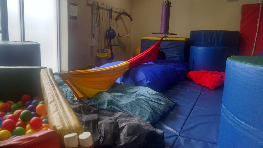 KidAbilities, Large Sensory Gym   Sensory rooms, Therapy