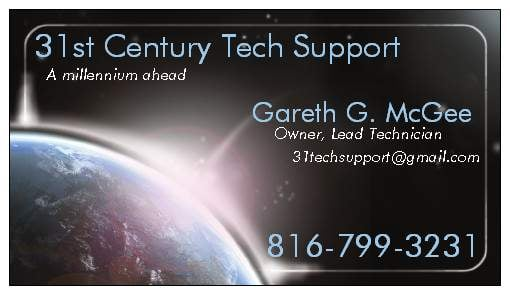 31st Century Techsupport: 117 W 5th Ave, Arkansas City, KS
