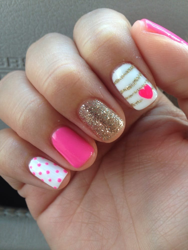 Photo Of Landmark Nail Spa Cerritos Ca United States Pink And Gold