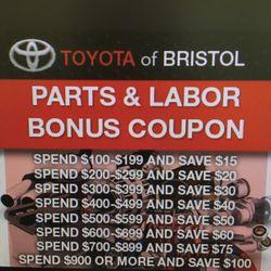 Toyota Of Bristol 18 Photos 11 Reviews Auto Repair 3045 W