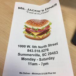 14 Ms Jackie S Diner