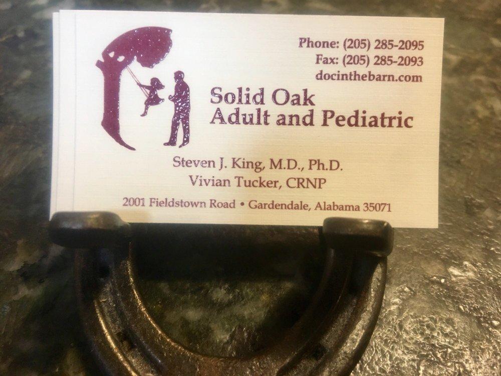 Solid Oak Adult and Pediatric: 2001 Fieldstown Rd, Mount Olive, AL