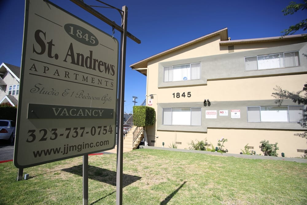 St Andrews Manor Apartments Los Angeles