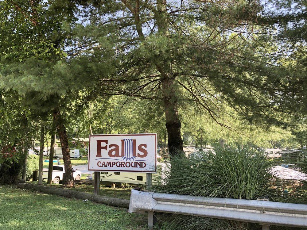 Falls Campground: 6072 N Hwy 3, Louisa, KY