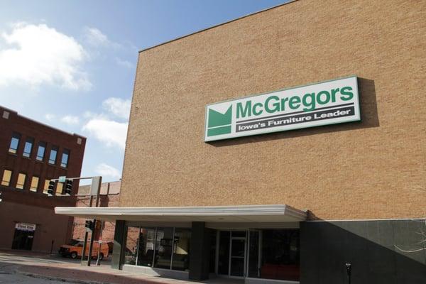 mcgregors furniture - furniture stores - 712 central ave, fort dodge