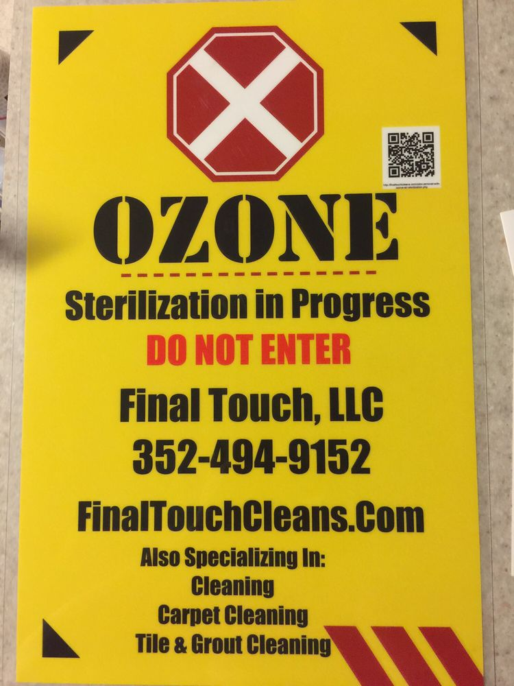 Let Us Use Ozone To Get Rid Of Any Odor You Have We