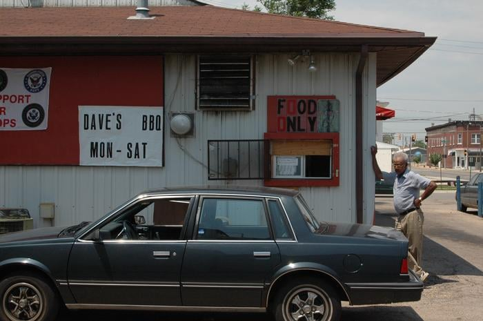 Dave's Barbeque: 200 S Adams Ave, Freeport, IL