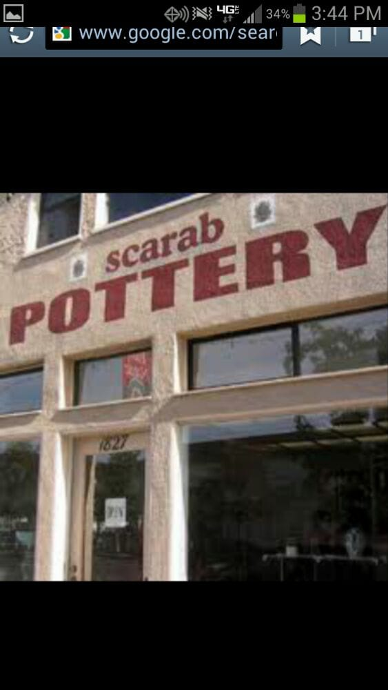 Scarab Pottery: 1827 India St, San Diego, CA