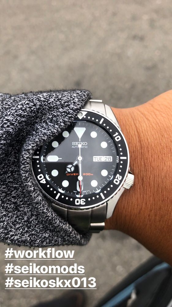 Seiko Fifty Five Fathoms mods, dials and hands by Yobokies - Yelp