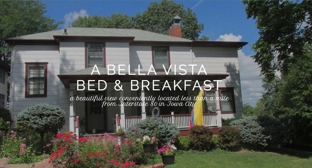 A Bella Vista Place Bed and Breakfast: 2 Bella Vista Pl, Iowa City, IA