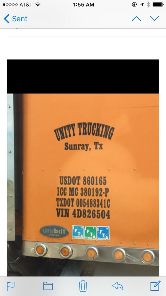 Unity Trucking: 900 Highway Ave, Sunray, TX
