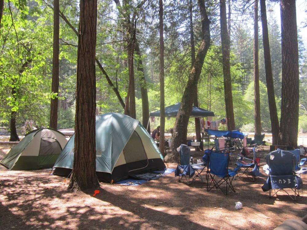 North Pines campsite 506 =) - Yelp