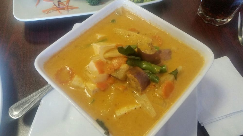 Red curry soup with soft tofu yelp for Ano thai lao cuisine