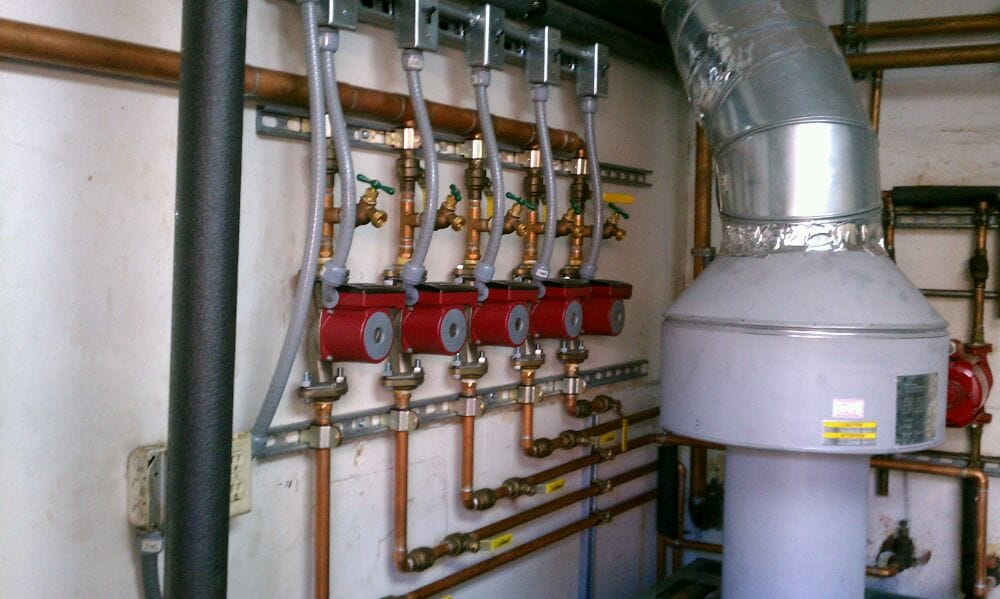 Domestic Hot Water Recirculation Pump Manifold