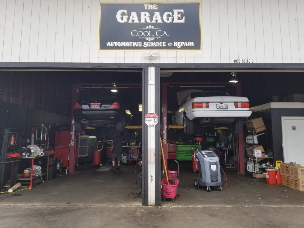The Garage: 3006 Highway 49, Cool, CA