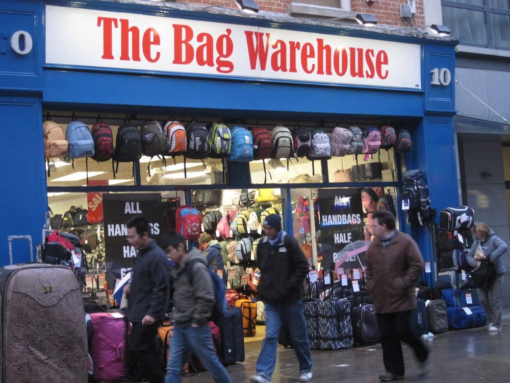 The Bag Warehouse - Suitcase/Bag Shops - 10 Talbot Street, North ...