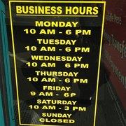 Advanced America Hours