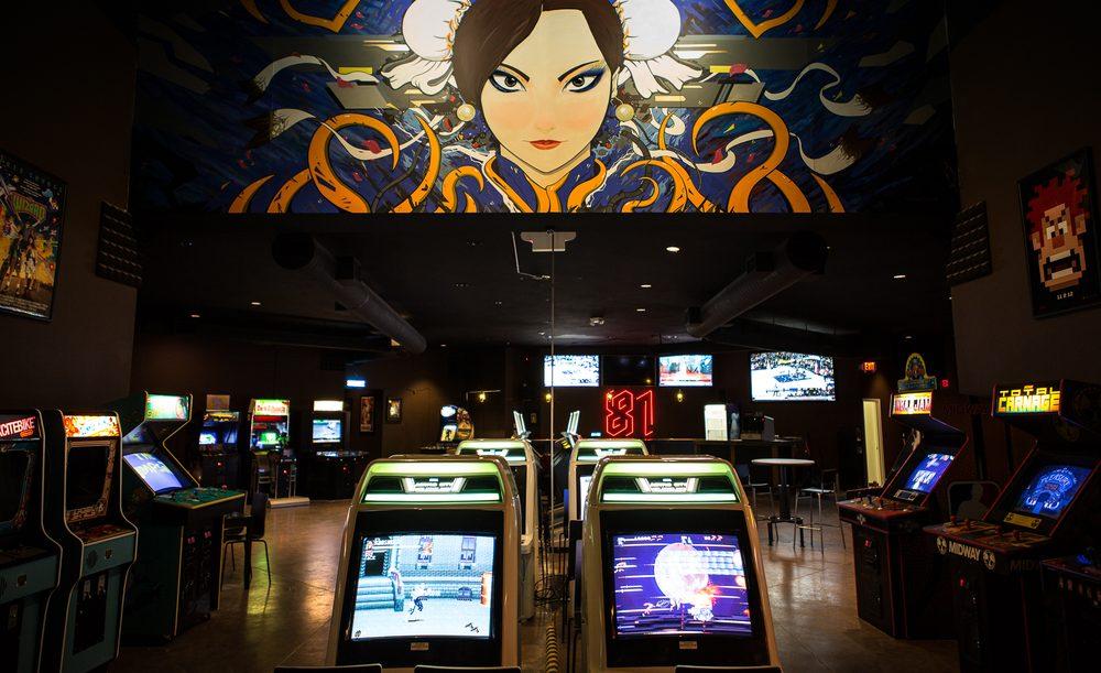 EightyOne Arcade Bar: 221 S Phillips Ave, Sioux Falls, SD