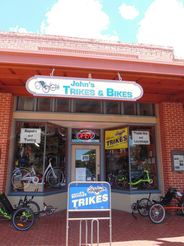 John's Trikes & Bikes: 157 Historic Town Square, Lancaster, TX