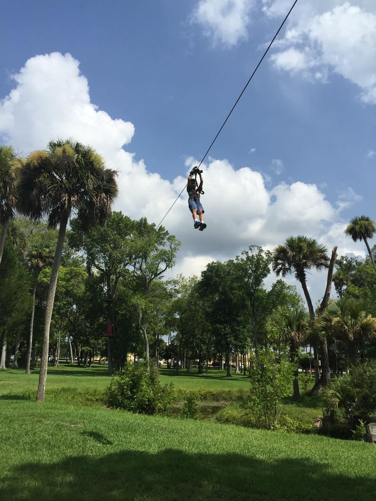 Daytona Beach Zipline Adventure