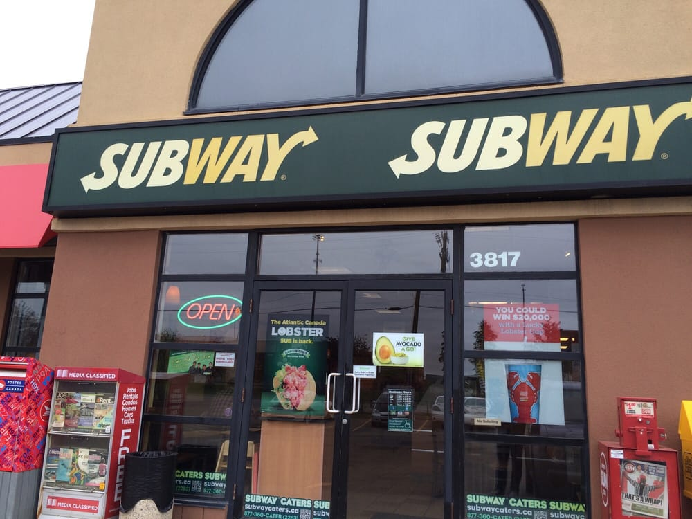 Subway 14 foto panini sandwich 3817 99th st for Kitchen cabinets 99 street edmonton