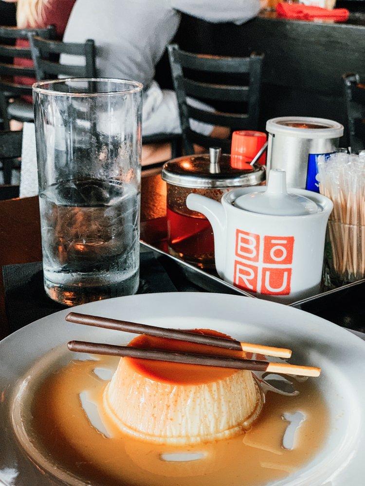 Food from Boru Asian Eatery
