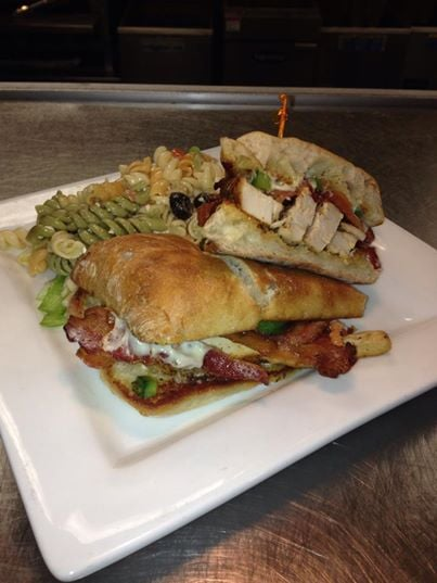 Chicken Bacon ranch Panini - Yelp