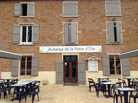 Resto patte d oie restaurants davay sa ne et loire for Garage patte d oie