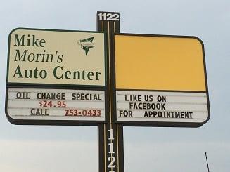 Morin's Auto Center: 1122 Center St, Auburn, ME