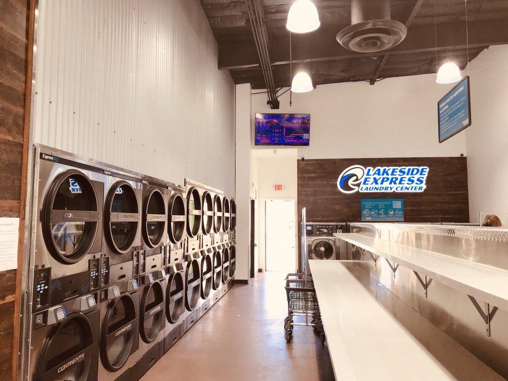 Lakeside Express Laundry Center: 9534 Winter Gardens Blvd, Lakeside, CA