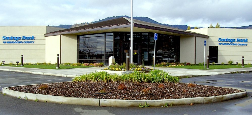 Savings Bank of Mendocino County   1100 Airport Park Blvd, Ukiah, CA, 95482   +1 (707) 462-1496