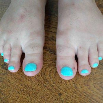 Asian blow n toes