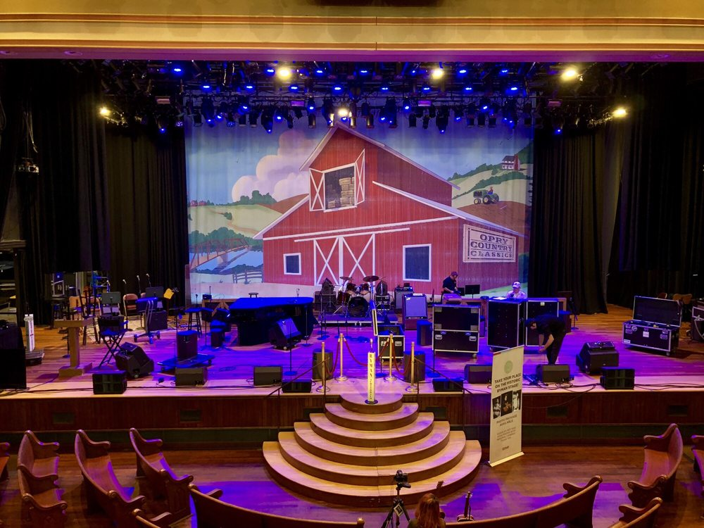 Social Spots from Ryman Auditorium