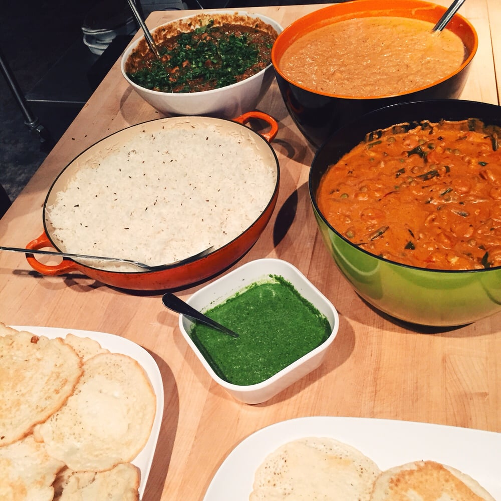 South indian food cooking class with chef gaby yelp photo of kitchen on fire west berkeley ca united states south indian forumfinder Choice Image