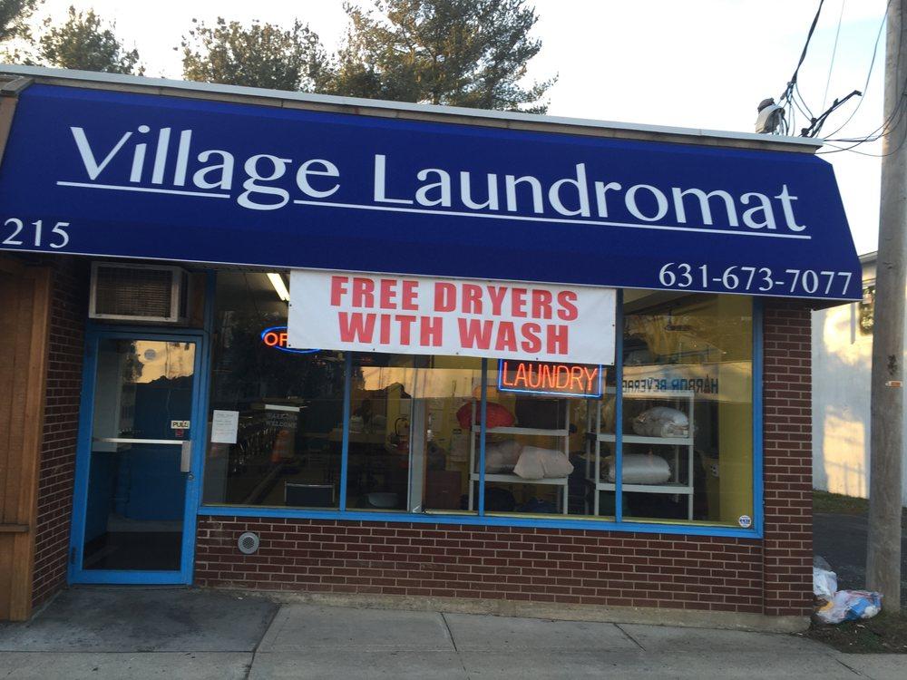 Village Laundromat: 215 New York Ave, Huntington, NY